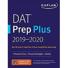 DAT Prep Plus 2019-2020: 2 Practice Tests + Proven Strategies + Online
