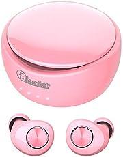 Elecder D11 Wireless Headphones Wireless Earbuds 3D Stereo Sound Bluetooth 5.0 Headphones with Charging Case, Wireless Earphones with Microphone, 6-8 Hours Play Time, IPX5 SweatProof Sports Headphones