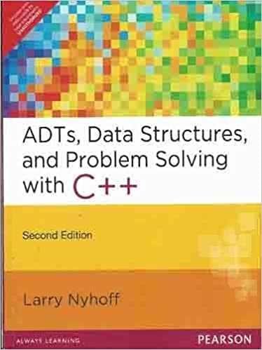 C AN INTRODUCTION TO DATA STRUCTURES LARRY NYHOFF PDF
