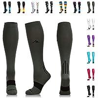 NEWZILL Compression Socks (20-30mmHg) for Men & Women -...