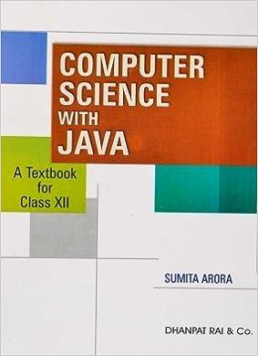 Java Sumita Arora Ebook