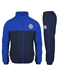 Chelsea Football Club Official Soccer Gift Boys Tracksuit Set 10-11 Years LB