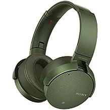 Sony MDR-XB950N1B Wireless Noise Cancelling Extrabass Headphones - Green (International Version) …
