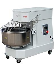 Hakka Commercial 60 Qt. Spiral Dough Mixer - 220V/60Hz Phase 3(60