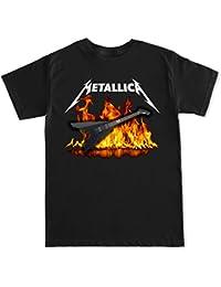 Men's Metallica James Hetfield Guitar T Shirt