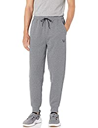 Amazon Brand - Peak Velocity Men's Medium-weight Fleece Loose-fit Jogger Sweatpant