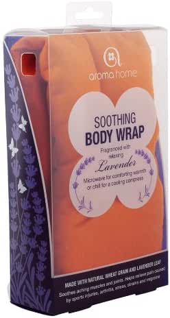 Aroma Home Soothing Body Wrap in Orange