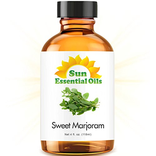 Sweet Marjoram (Large 4 ounce) Best Essential Oil