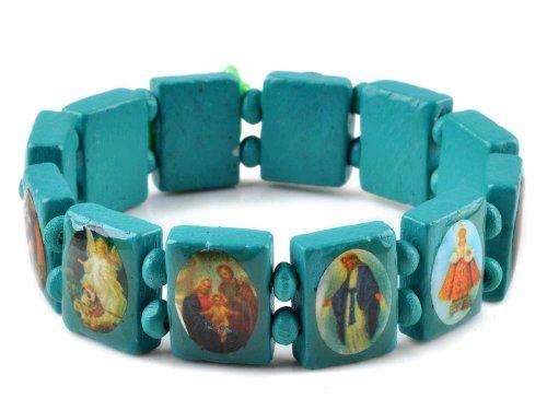 Saints Bracelet Elastic Adjustable Bangles product image