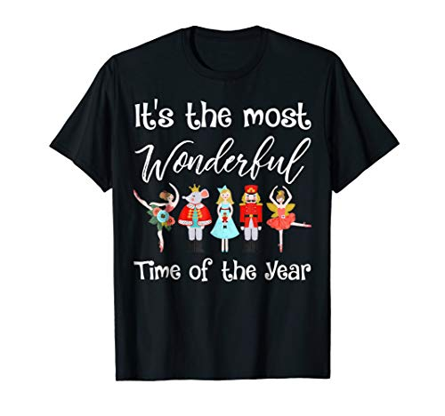 The Nutcracker Ballet Christmas Dance T Shirt