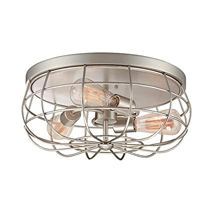 Millennium lighting 5323 sn flush mount ceiling light amazon millennium lighting 5323 sn flush mount ceiling light aloadofball