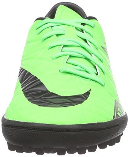 Nike Hypervenom Phelon II TF Herren Fußballschuhe Grün (Green Strike/Black-Black)