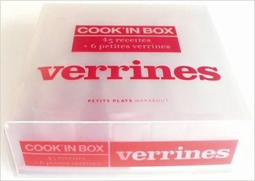 Livre gratuits Cook'in Box verrines : 45 Recettes et 6 petites verrines pdf, epub