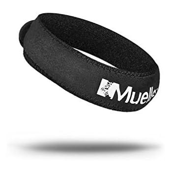 Mueller Jumper's Knee Strap, Black, 1 Size