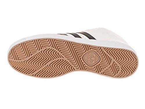 Adidas Uomo Skateboard Pro Modello Vulc Calzature Bianco / Nero / Oro Metallizzato