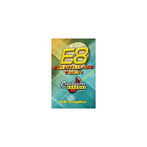 CHARTBUSTER Essential 450 Collection Vol. 8 CD+G Pack - Chartbuster Essential 450 Collection