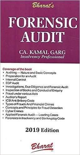 Forensic Audit – 2019