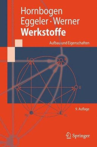 Werkstoffe  Aufbau Und Eigenschaften Von Keramik  Metall  Polymer  Und Verbundwerkstoffen  Springer Lehrbuch