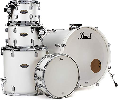 Pearl Decade Maple Shell Pack - 5pc - White Satin ()