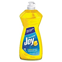 Joy PGC 21737 Dishwashing Liquid, 14 oz. Bottle, Lemon Scent (Pack of 25)