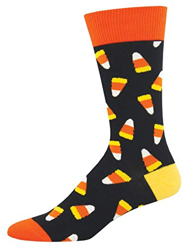 Socksmith Men's Candy Corn Novelty Socks,
