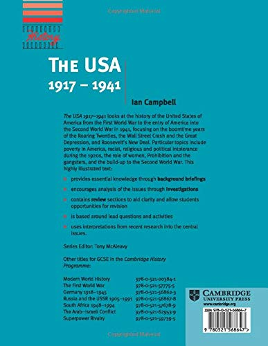 The USA, 1917-1941