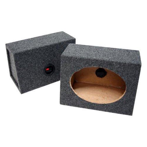 Atrend 6X9PR B Box Series 6 x 9 Inches Pair Speaker Box with Speaker Terminal by ATREND