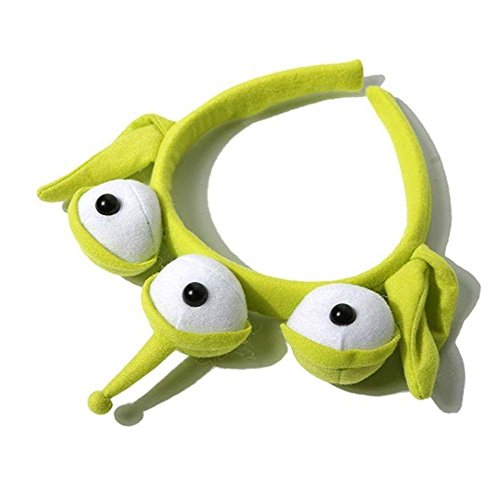 Alien Headband Toy Story Eyeball Hairband Sweatband Alien Headwrap