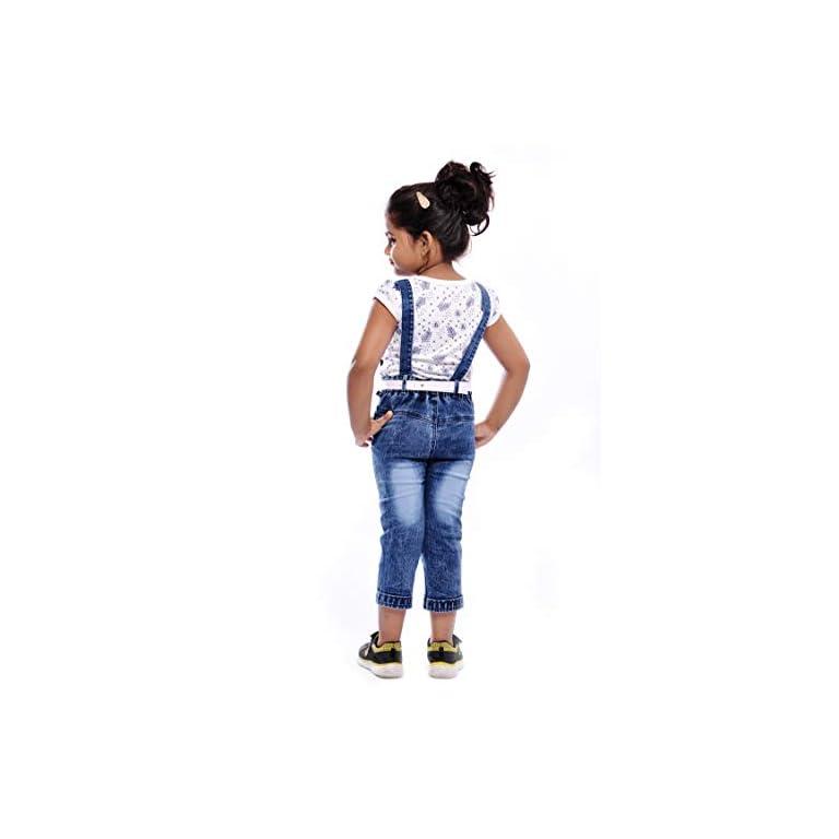411 1PEQzWL. SS768  - Aayat Fashion Girls' Knee Length Dungaree