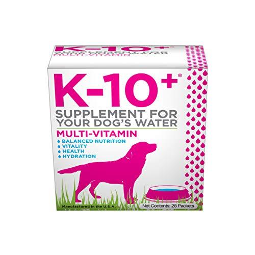 K-10+ Multi-Vitamin Supplement For Your Dog