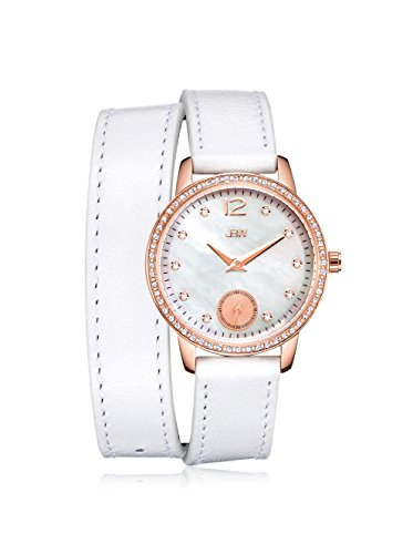 JBW J6324A Women's Savannah Watch - Mother of pearl /White