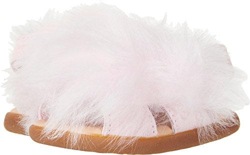 UGG Kids Girls' I Holly Flat Sandal, Seashell Pink, 02/03 M US Infant