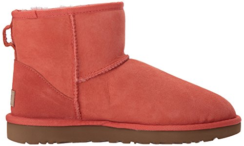 Ugg Womens Classic Mini Ii Winter Boot Vibrante Corallo