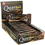 クエストニュートリション(Quest Nutrition) プロテインバー チョコレートブラウニー (60g x 12本) [海外直送][並行輸入品]