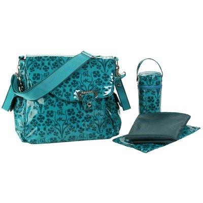 Kalencom Teal Blue Ozz Coated Diaper Bag
