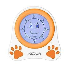 Kobwa Kids Children Sleep Trainer Alarm Clock With Night Light