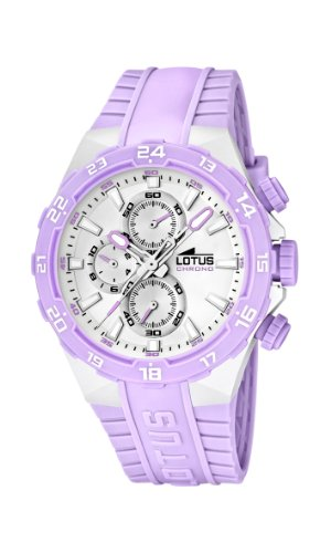 Lotus Women's Quartz Watch 15800/A with Plastic Strap