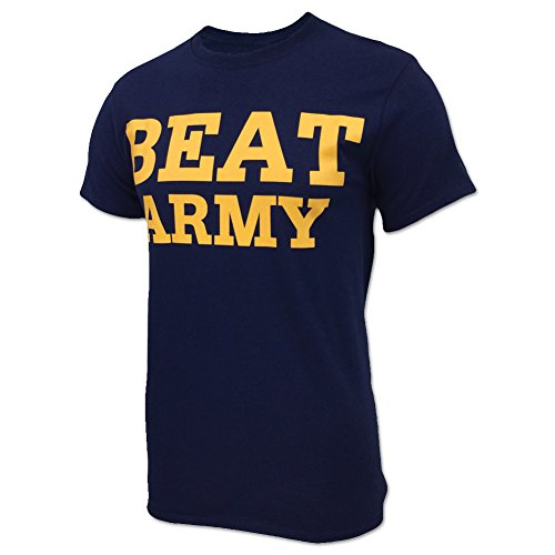 US Naval Academy Beat Army T-Shirt, large, Navy (Naval Academy Football)