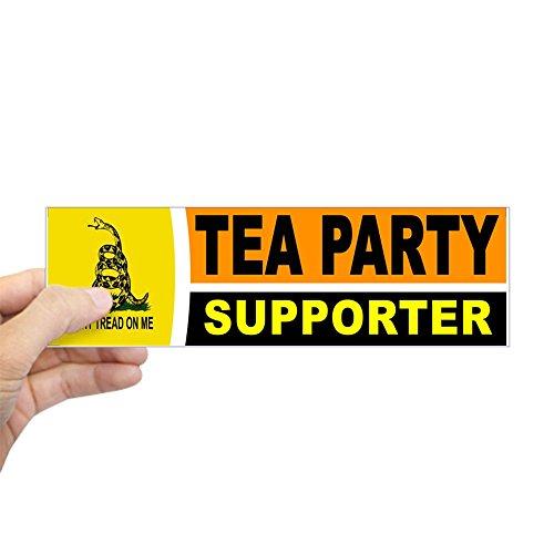 CafePress - TEA PARTY BUMPER STICKER Bumper Sticker - 10