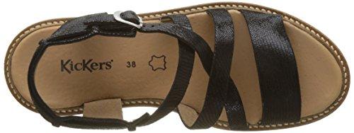 Euridice Women's Back Kickers Sandals Noir Noir Sling p8Rw5wxq