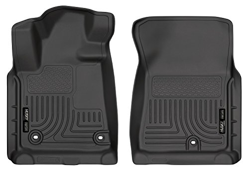 Husky Liners Front Floor Liners Fits 12-18 Tundra CrewMax/Double/Standard Cab.