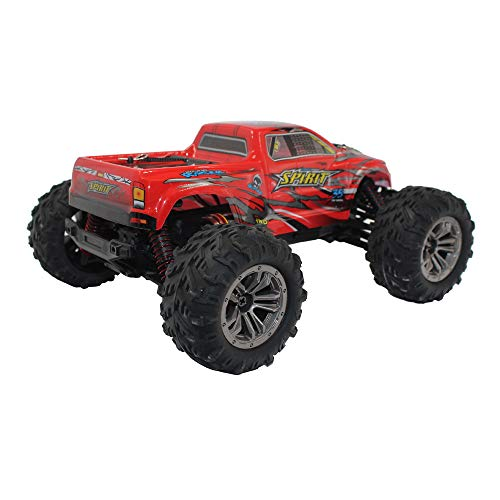Choosebuy 1:16 Off-Road Remote Control Racing Car with 2.4GHz Technology, 4WD High Speed RC Tracked Cars Buggy Toys for Indoors/Outdoors, Best Christmas Birthday Gift for Children and Adults (Red) by Choosebuy (Image #3)