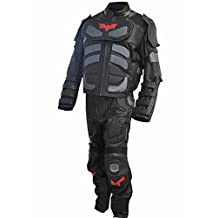 Classyak Men's Dark Real Leather Knight Costume Suit, High Quality, Xs-5xl