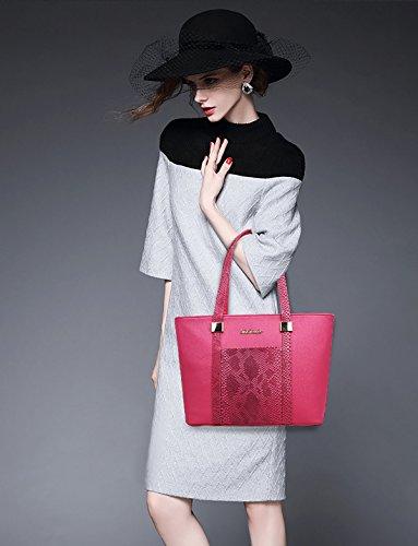 borse tracolla Rosa 2018 retro migliori set croce borsa borse nuova di Sdinaz moda Rossa a donna 6 w7YZYTx