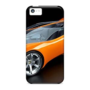 New Style Tpu 5c Protective Case Cover/ Iphone Case - Lotus Crazy Concept