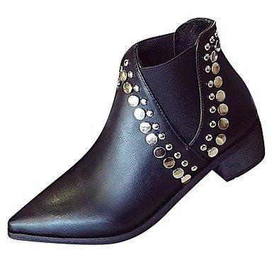 7 Señaló For Negro US6 Zapatos Casual 5 Negro Talón El La 5 De Mujer Gore 7 Bajo RTRY 5 Botas Moda Cn37 CN37 Uk4 Us6 Ue37 Toe De Caída 5 Botas 5 EU37 Pu 5 UK4 aBqBfUO