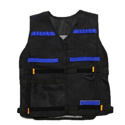 Bullet Jacket (Tactical Vest Kids Toy Gun Clip Jacket Foam Bullet Ammunition Holder For Nerf)