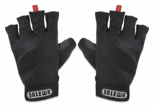 Klettersteig Handschuhe : Salewa klettersteig handschuhe via ferrata gloves black xl amazon