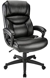 info for 91851 e4ee2 Amazon.com: Realspace Fennington Bonded Leather High-Back ...