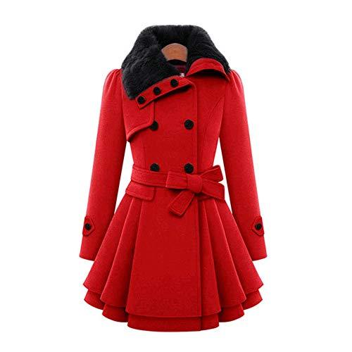 Negro Piel Mujeres Red Mujer Sudadera Cuello Tamaño Cinturón Las Solapa Xxxxl De Gran Chaqueta Parker Gss abrigos Color Sólido color Rompevientos qU1SX